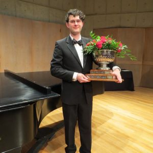 Adam Schmidt is the 2019 National Classical Voice winner at the B.C. Performing Arts Festival.