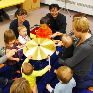 Finding the best music class for your child, Families making music