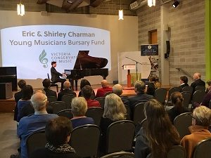 Eric and Shirley Charman Bursary for Young Musicians tops $1,000,000 and Continues to Grow