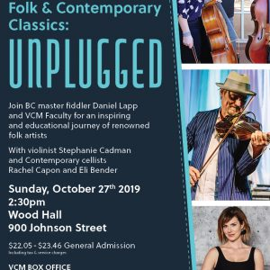 VCM Presents, Folk & Contemporary Classics: Unplugged