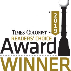 Times Colonist Readers Choice Award Winner