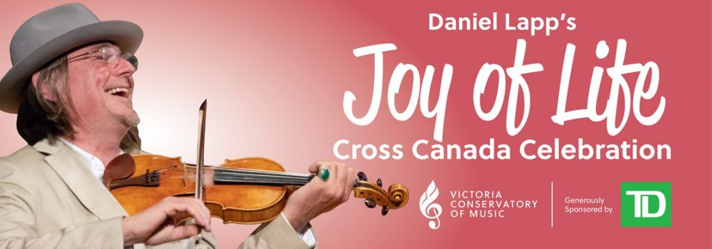 Joy of Life concert on YouTube with Daniel Lapp